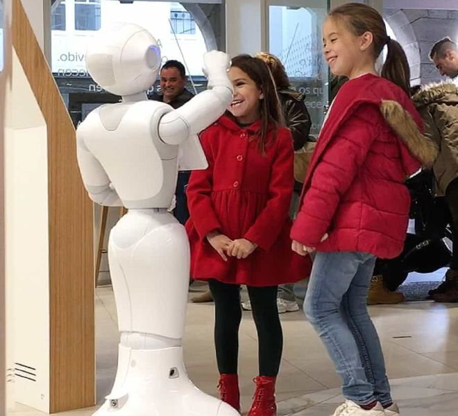 playfull robot